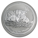 Perth Mint Silver (2008 Mouse Coins) (Series 2)